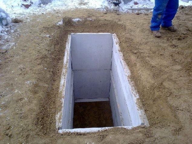 Stavitel podzemní hrobky foto
